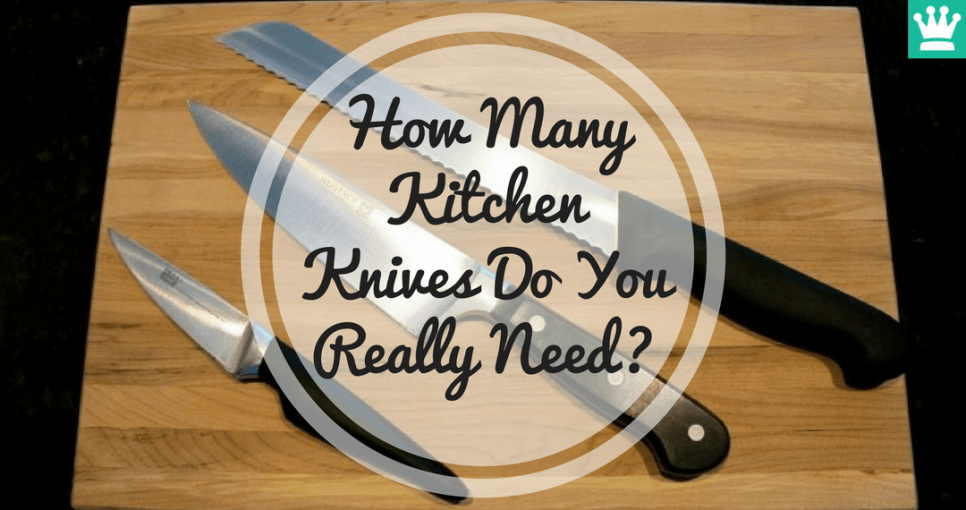 How Many Kitchen Knives Do You Really Need?
