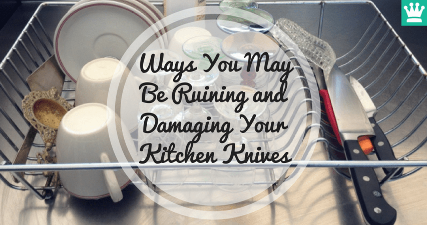 Ways You May Be Ruining and Damaging Your Kitchen Knives