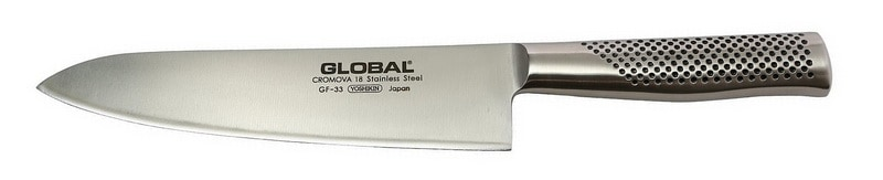 Global Forged Heavyweight Chef's Knife (GF-33)