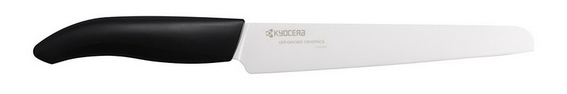 Kyocera Advanced Ceramic Revolution Series 7-inch Serrated Slicing Bread Knife
